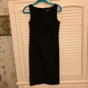 Ann Taylor Fitted Black Dress